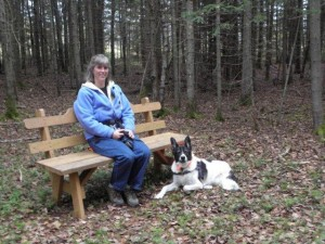 Taking a break - Wildlife Refuge, Limestone, Maine October 2012